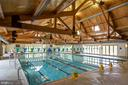 Enjoy the indoor pool and hot tub - 43409 RIVERPOINT DR, LEESBURG