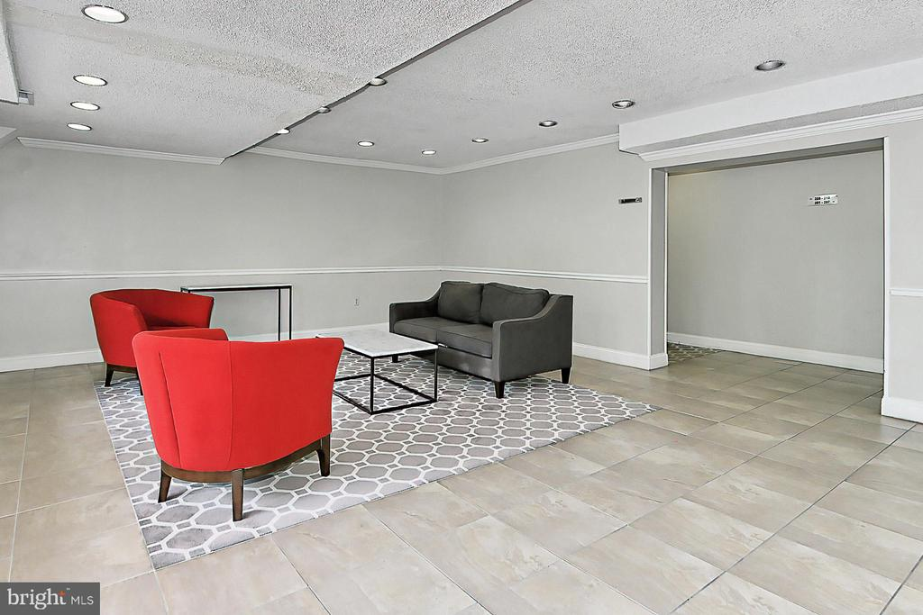 Enter the 2014 renovated lobby - 6137 LEESBURG PIKE #602, FALLS CHURCH