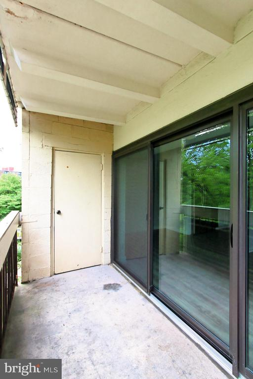 Utility room off balcony - 6137 LEESBURG PIKE #602, FALLS CHURCH