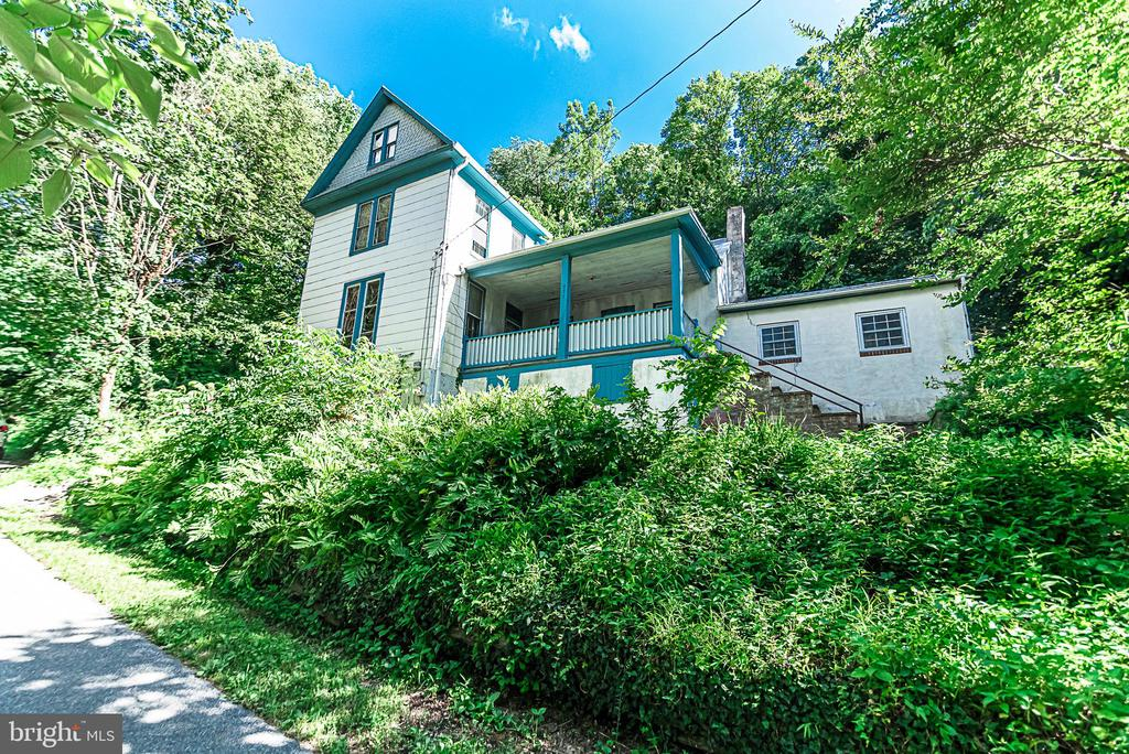 View from Henry Clay Street of Armorer's dwelling - 371 HENRY CLAY, HARPERS FERRY