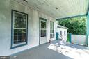 Spacious porch - 371 HENRY CLAY, HARPERS FERRY