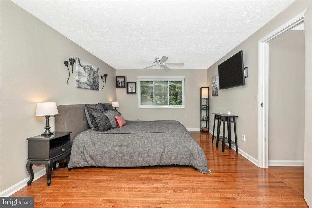 Master Bedroom with Hardwood Floors 2 - 18312 AMBER MEADOWS CT, GAITHERSBURG