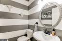 main level powder room - 8305 VENTNOR RD, PASADENA