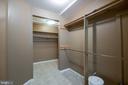 Walk in closet in the in-law suite - 8305 VENTNOR RD, PASADENA