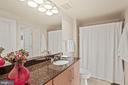 2nd Bathroom w/ granite counters. - 1021 N GARFIELD ST #731, ARLINGTON