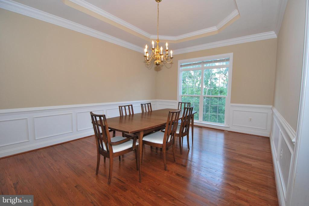 Huge Dining Room with Tray Ceiling - 22554 FOREST RUN DR, ASHBURN