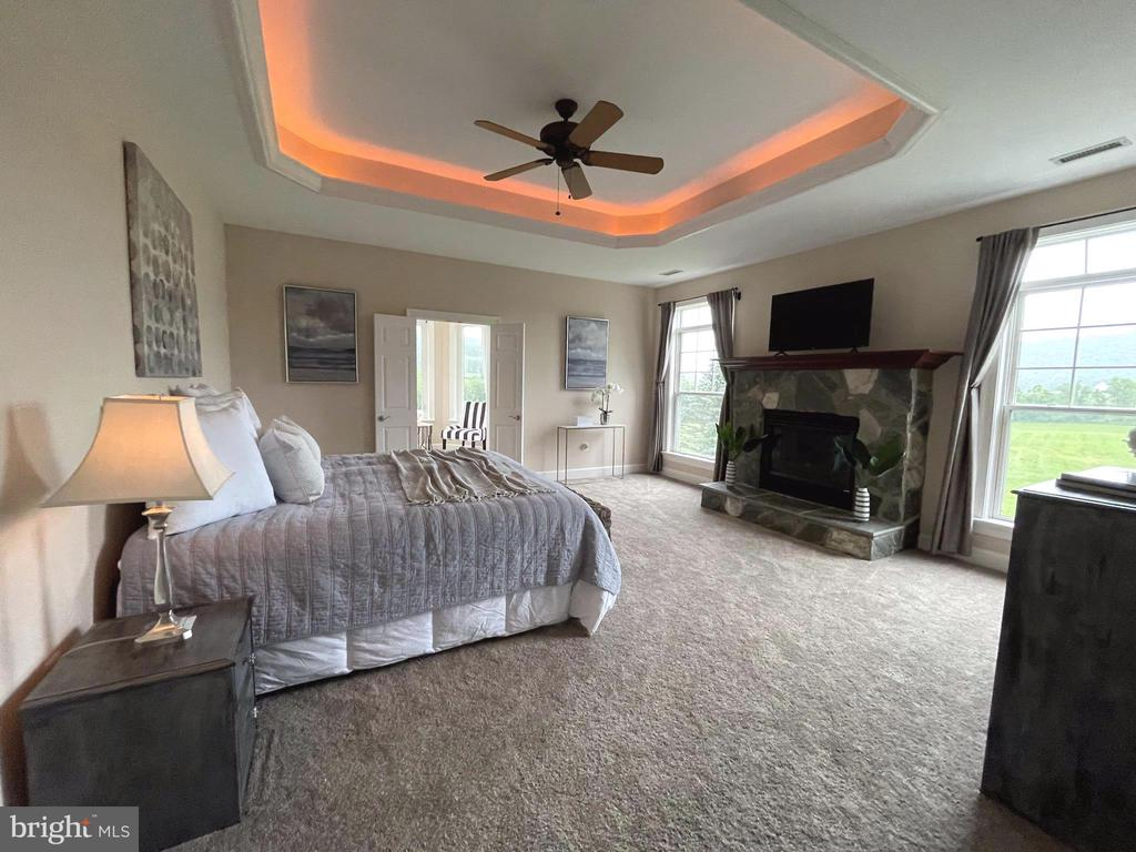 Spacious primary with morning room, WIC & VIEWS! - 14868 CIDER MILL RD, HILLSBORO