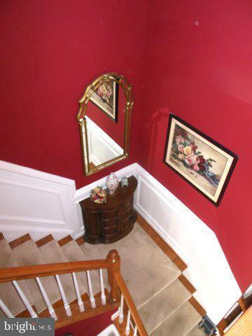 Staircase to upstairs - 20064 NORTHVILLE HILLS TER, ASHBURN