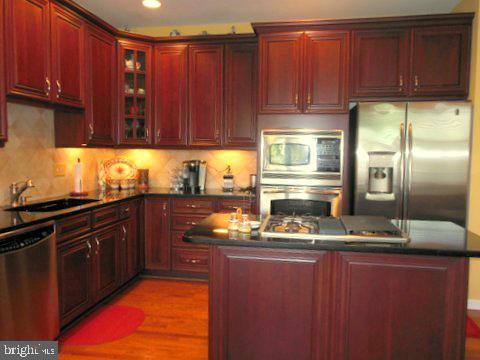Gourmet kitchen with upgraded cabinets - 20064 NORTHVILLE HILLS TER, ASHBURN
