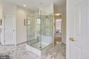 Free standing shower - 8619 TERRACE GARDEN WAY, BETHESDA