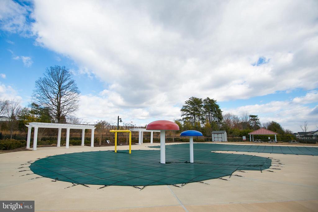 Community pool - 42 HUNTING CREEK LN, STAFFORD