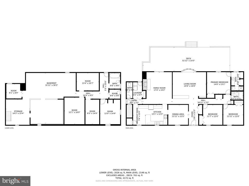 Floor Plan - 10132 WOODSBORO RD, WOODSBORO