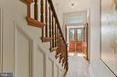Restored original staircase. History galore - 1838 VERMONT AVE NW, WASHINGTON