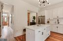Bright & fresh w/Quartz counters plus gas cooking - 1838 VERMONT AVE NW, WASHINGTON