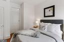 Flexibility w/connecting door btw bedroom 2 & 3 - 1838 VERMONT AVE NW, WASHINGTON