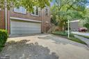 Two-Car attached garage and Driveway - 1323 SUNDIAL DR, RESTON
