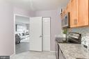 Pantry in the kitchen - 1600 N OAK ST #624, ARLINGTON