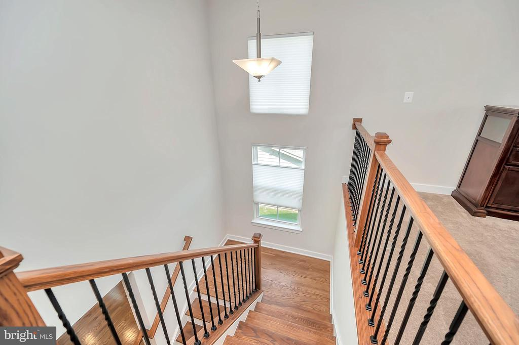 Open Staircase with metal ballisters - 17152 BELLE ISLE DR, DUMFRIES