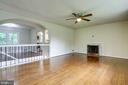 Big Living Room with Fireplace - 4005 LAKE BLVD, ANNANDALE
