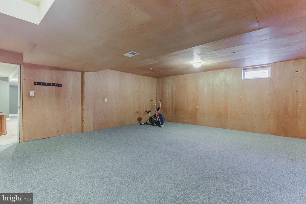 Basement - exercise room, storage or finish off - 111 MAROON CT, FREDERICK