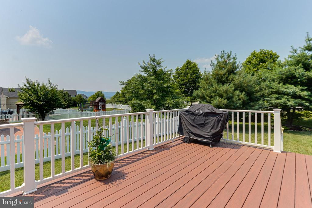 Great deck and yard for entertaining - 111 MAROON CT, FREDERICK