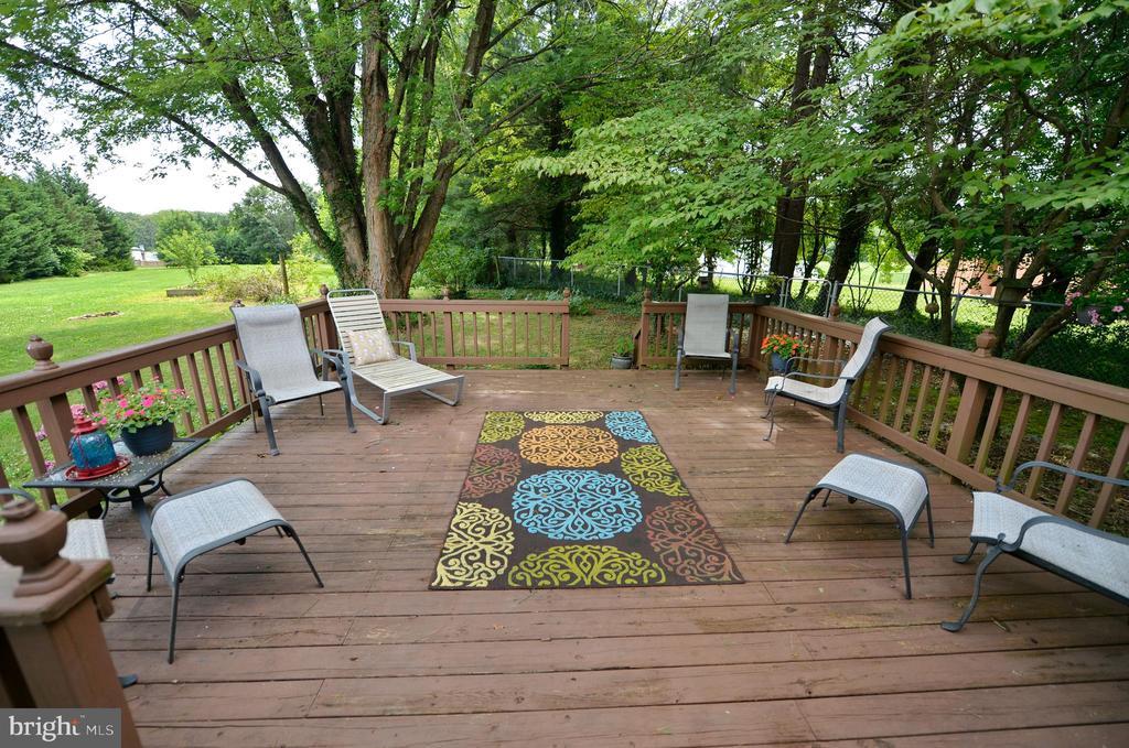 Wonderful deck - 410 S NURSERY AVE, PURCELLVILLE