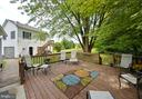 Deck view 2 - 410 S NURSERY AVE, PURCELLVILLE