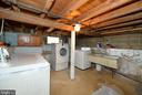 Lower level laundry - 410 S NURSERY AVE, PURCELLVILLE