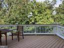 Large 14'x22' Deck with tranquil mature tree - 22554 FOREST RUN DR, ASHBURN