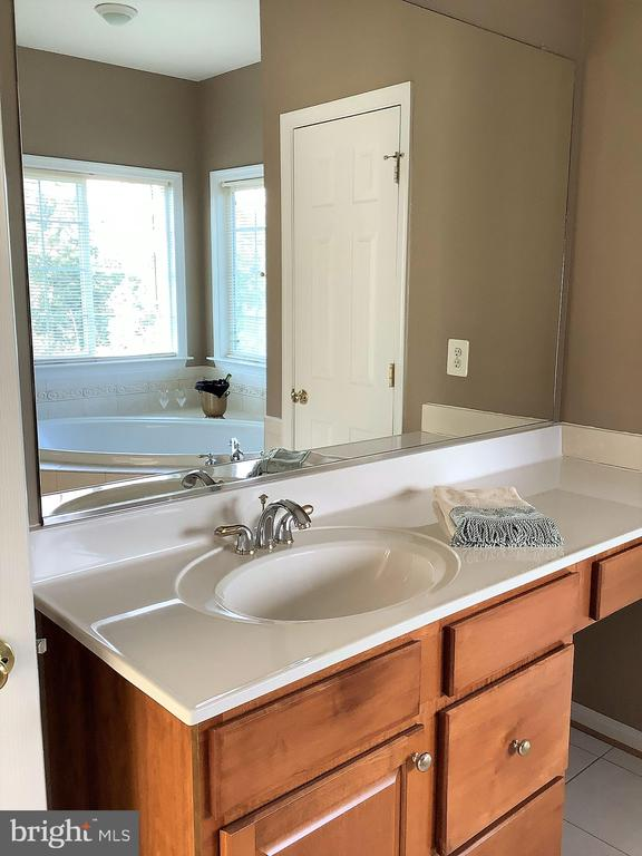 Dual Vanities in Primary Bath - 22554 FOREST RUN DR, ASHBURN