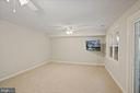 Large recreation room - 8017 GALLA KNOLL CIR, SPRINGFIELD