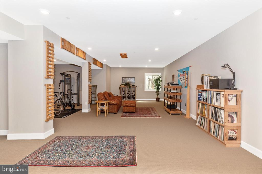 Fully finished lower level - 3835 FULHAM RD, FREDERICK