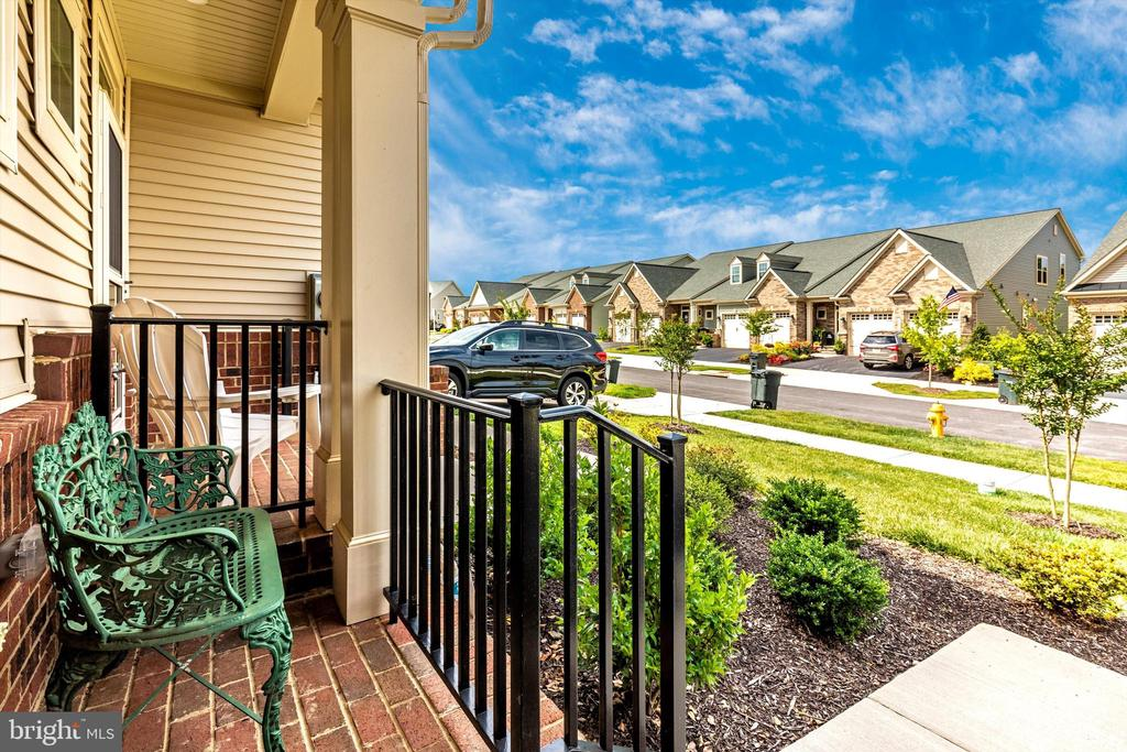Front porch view! - 3835 FULHAM RD, FREDERICK