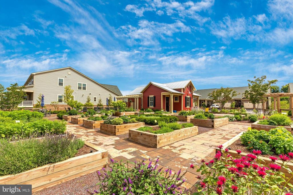 Exceptional community garden with firepit! - 3835 FULHAM RD, FREDERICK