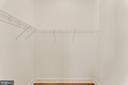 Walk-in closet in the 3rd bedrrom - 4346 BASFORD RD, FREDERICK