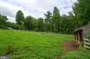 Natural shad and windbreak surrounds the field - 4346 BASFORD RD, FREDERICK