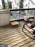 Relaxing screened in porch - 6502 LAKE PARK DR #301, GREENBELT