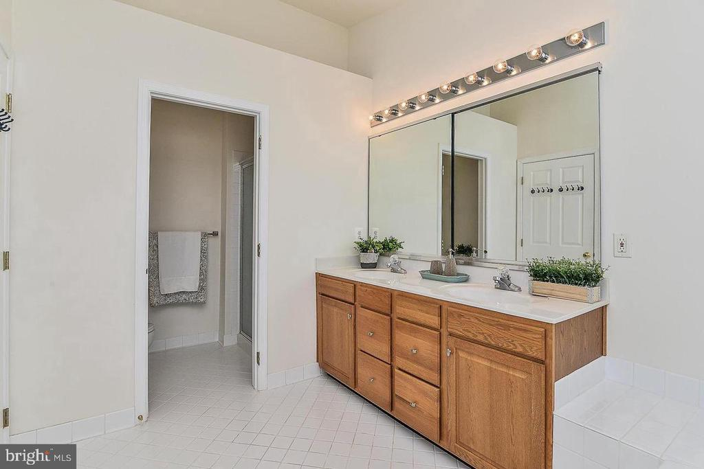 Separate toilet and shower - 25506 CROSSFIELD DR, CHANTILLY