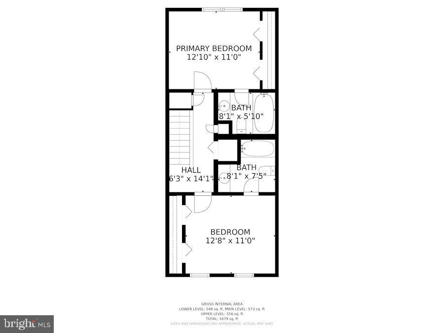 Upper level - 920 S ROLFE ST, ARLINGTON