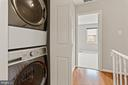 Newer washer/dryer conveniently located upstairs - 920 S ROLFE ST, ARLINGTON