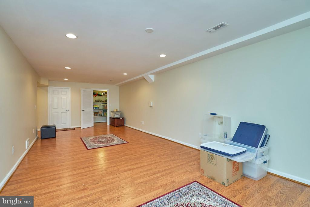 Large Recreation Room - 11902 HOLLY SPRING DR, GREAT FALLS