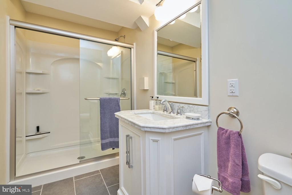 Lower Level Full Bath - 11902 HOLLY SPRING DR, GREAT FALLS