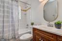 Hall  bath with tub/shower combination - 10106 GREENOCK RD, SILVER SPRING