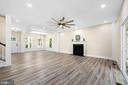 Luxury vinyl plank flooring - 207 WASHINGTON ST, LOCUST GROVE