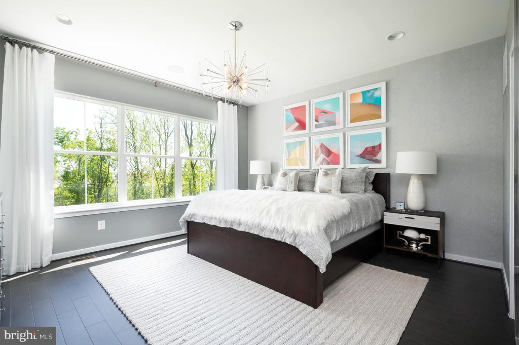 Primary Suite  - photo shown is of similar home - 42362 ZENITH TER, ASHBURN