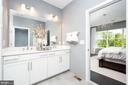 Primary Bath  - photo shown is of similar home - 42362 ZENITH TER, ASHBURN
