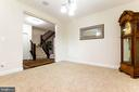 Formal living room - 23384 MORNING WALK DR, BRAMBLETON
