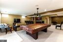 The basement is perfect for game nights and movies - 23384 MORNING WALK DR, BRAMBLETON