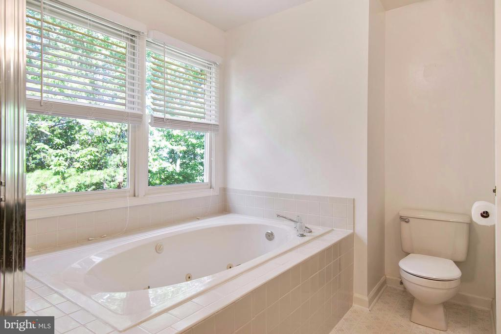 Natural light and tub overlooks private back yard - 205 SAIL CV, STAFFORD