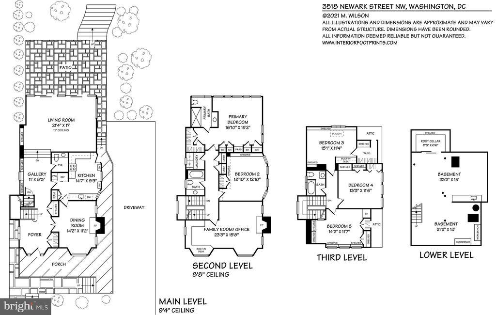 Floor plan - 3518 NEWARK ST NW, WASHINGTON
